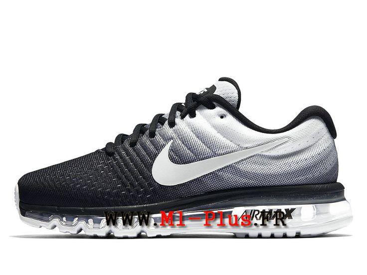 Nike Air Max 2017 - Chaussure de Nike Running Pas Cher Pour Homme Noir/Blanc