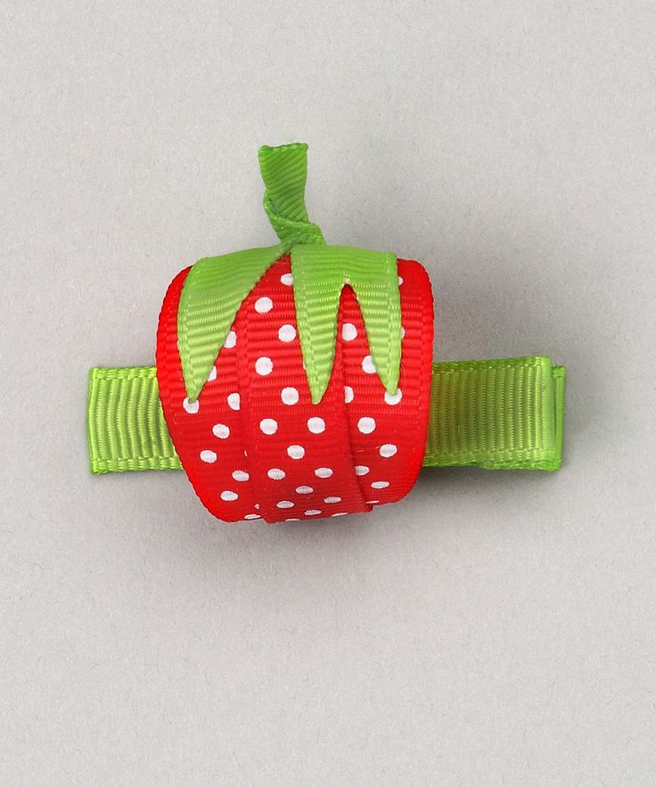 Strawberry: Hairbows, Bubbles Bows, Sweet Treats, Strawberries Clip, Red Strawberries, Hair Bows, Hair Clip, Hairclip, Girls Outfit