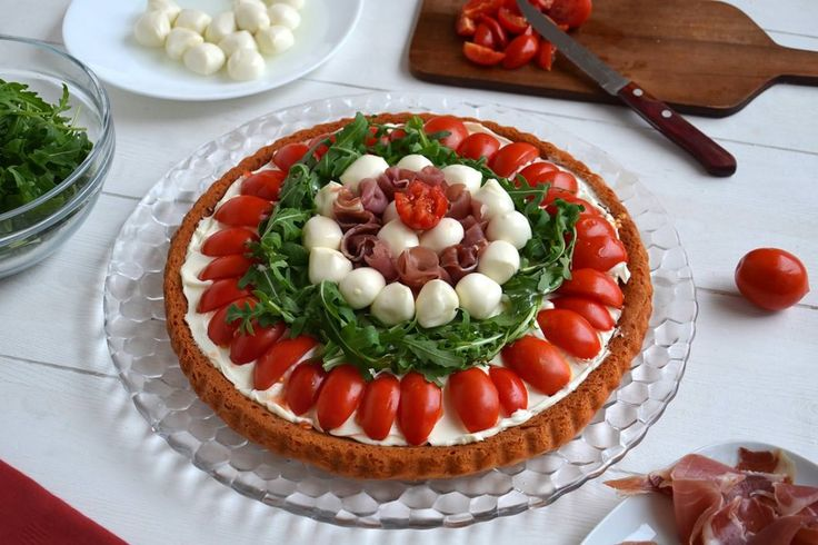 Crostata salata a base morbida