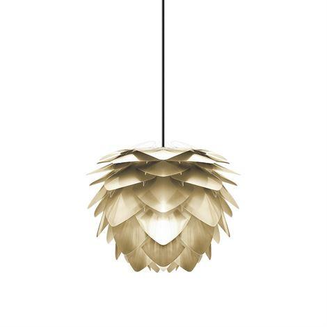 Lámpara Silvia, latón pulido - Ø 45 cm - Vita