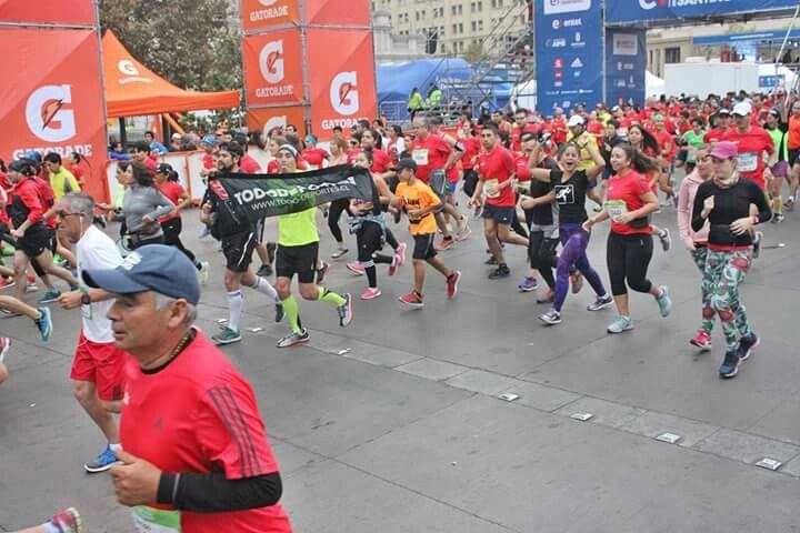 Maraton de santiago 2016 #TDChile