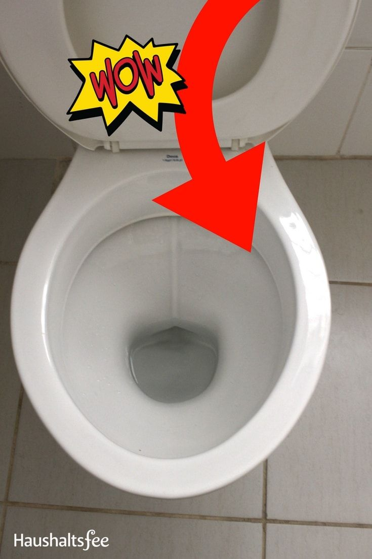 121 besten toilette wc reinigen bilder auf pinterest haushalt hilfe und reinigen. Black Bedroom Furniture Sets. Home Design Ideas