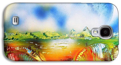 Rainbowland Galaxy S4 Case Printed with Fine Art spray painting image Rainbowland by Nandor Molnar (When you visit the Shop, change the orientation, background color and image size as you wish)