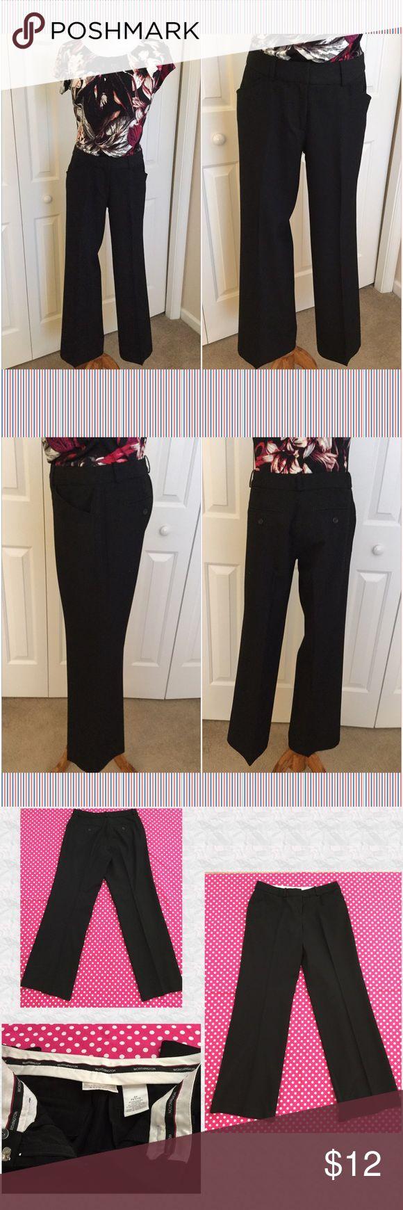 "Worthington Black Dress Slacks Worthington black dress slacks.  Inseam is 30"".  Polyester/rayon/spandex blend.  Well kept and like new condition. Worthington Pants Trousers"
