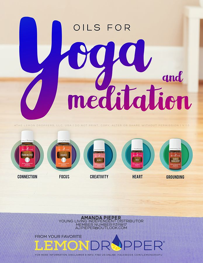 Back to my daily Yoga routine, these essential oils are perfect to assist with some deep meditation methods.