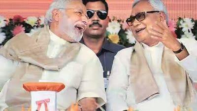 Sachhikhabars -Hindi Blog : राजनाथ सिंह ने कहा नीतीश कुमार ईमानदार नेता है