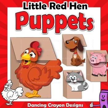 how to make hen with craft paper