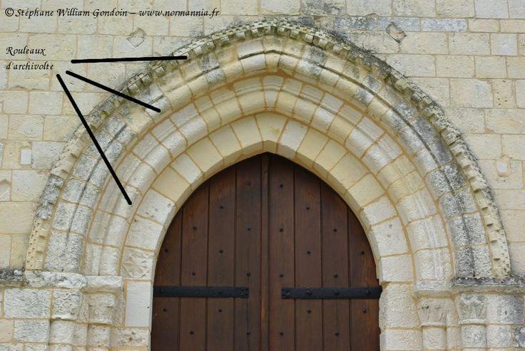 Rouleau d 39 archivolte rouleau d coratif le moyen age for Architecture gothique
