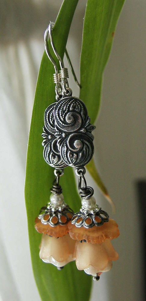 New Jewelry (updated) orange-blossom-silverfish-designs-handmade-earrings – Silverfish Artisan Jewelry