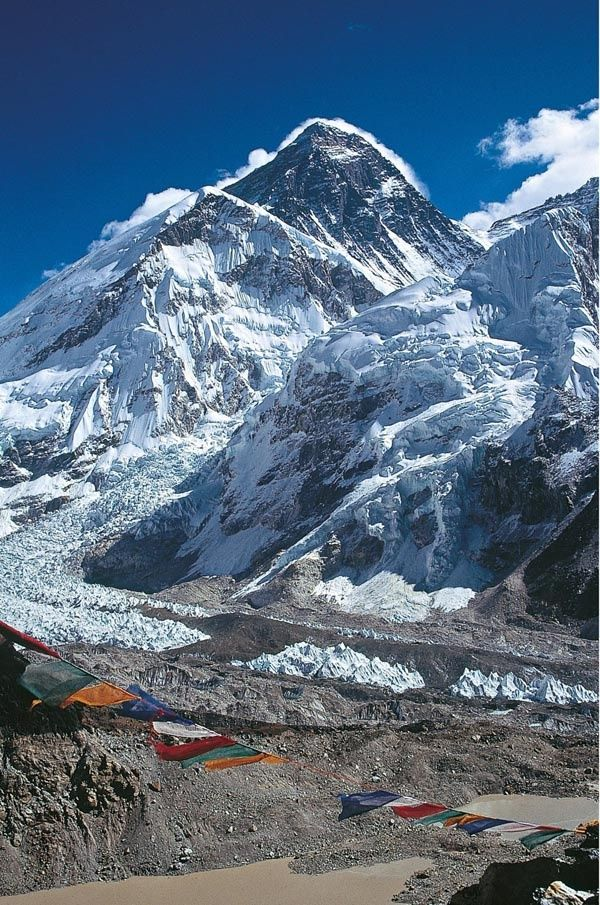 Mount Everest, Mahalangur, Himalayas