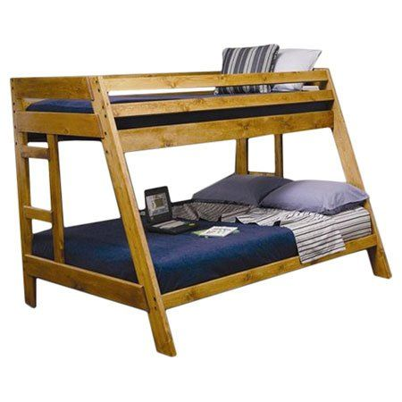 10 Best Twin Over Full Pine Bunk Beds Images On Pinterest