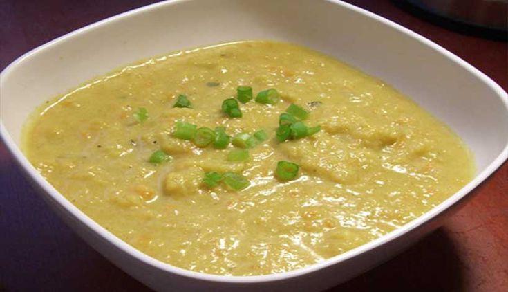 Οι Aγιορείτικες Μοναστηριακές Συνταγές σας προτείνουν μια νηστίσιμη συνταγή για το σαρακοστιανό μεσημεριανό τραπέζι, Κουνουπίδι σούπα.