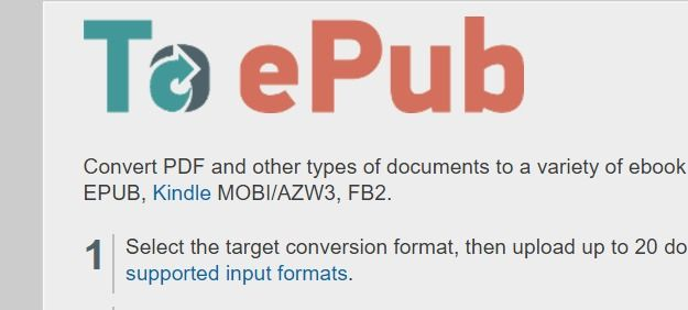eBookConverter – Convert PDF and Other Formats to eBooks