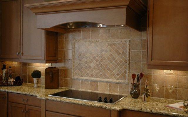 Kitchen Tile Work Ceramic Tile Backsplash Minimalist