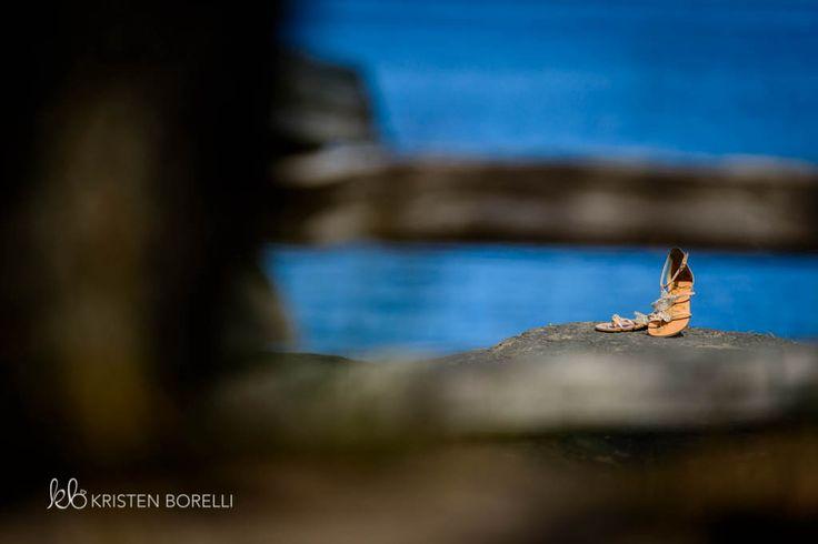 Gabriola Island Wedding Photography   Kristen Borelli Photography   Prince George Wedding Photographer   Wedding shoes by ocean