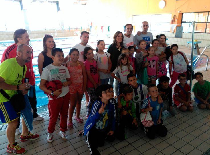 Más de quinientos niños participarán en el nuevo curso de natación escolar