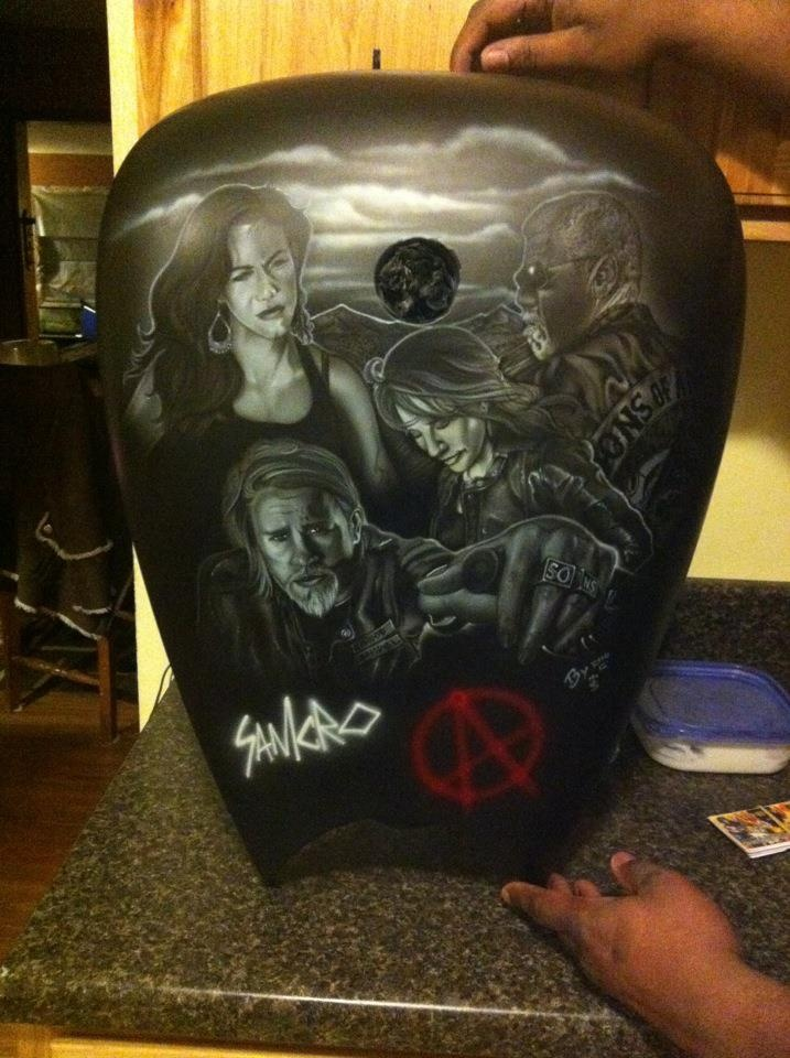 Airbrushed On A Harley Gas Tank Motorcycles Pinterest