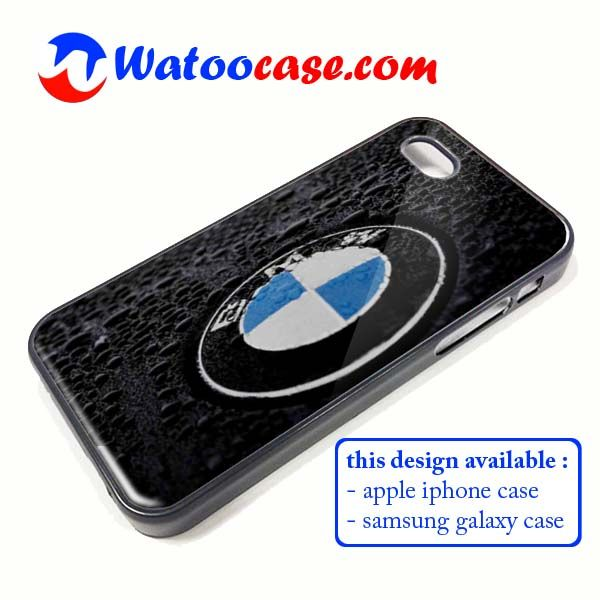 bmw-logo-on-rain-iphone-samsung-galaxy-phone-case