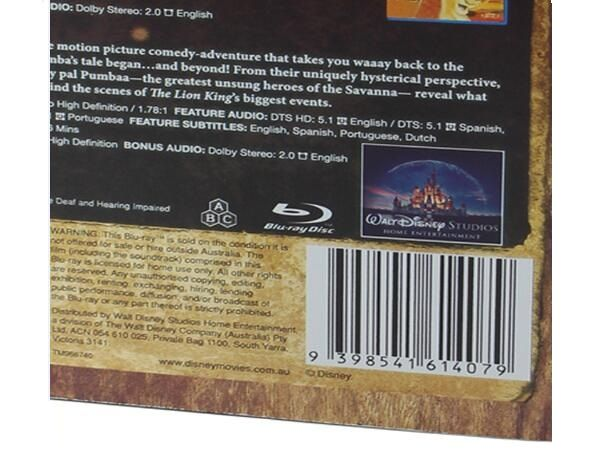 The Lion King Trilogy 1-3 [Blu-ray]