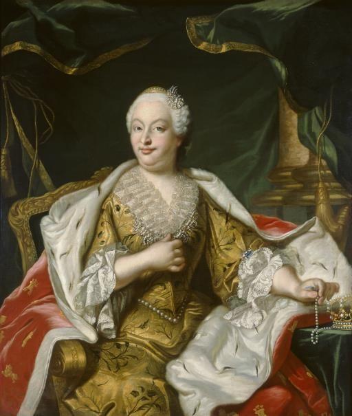Bárbara de Braganza, reina de España - Colección - Museo Nacional del Prado