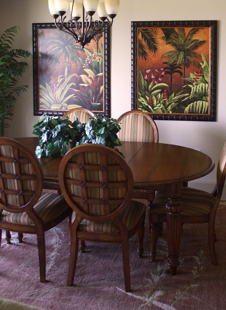 147 best images about Tropical dining rooms on Pinterest ...
