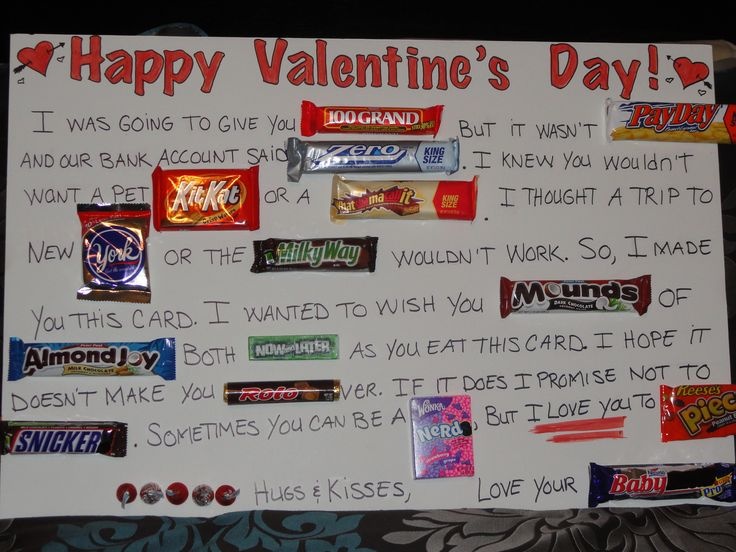 Best 25 Candy Bar Cards ideas that you will like – Candy Valentine Card