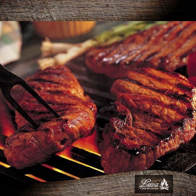 Delicioso original asado a la parrilla, solo en #Luva #CasadeCarnes