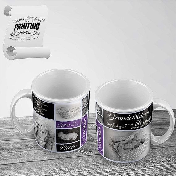 Grandma Mug Template.  This File Consists 2 Files:-  1 x PSD Template File 1 Fonts used  This Template can be edited in all ways to suit your