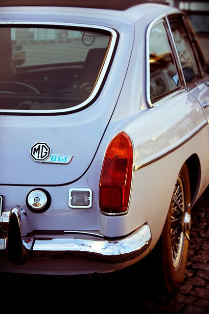 MGB GT - sisters! Did a restoration on one of these - also a great car