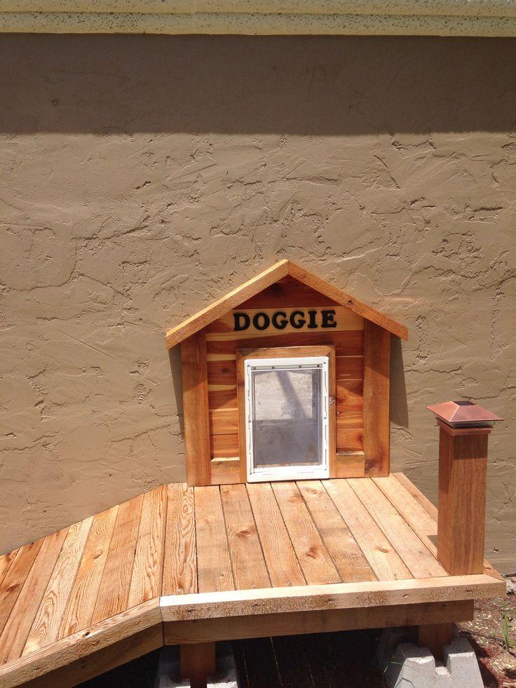 Doggie door & ramp by Gary Kunshier