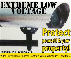 Extreme Low Voltage Banner. Call today for pricing. or visit www.extremelowvoltage.net for more services.