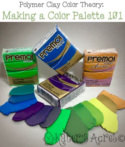 polymer clay color mixing guide
