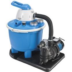 Accessoires pour piscine : Filtration : Filtre à sable KOKIDO pour piscine hors sol Intex 6m³/h   Filtre à débit 6m³/h m3   pour piscines hors sol s'utilisent avec du sable