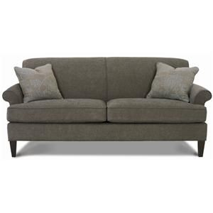 Small Sectional Sofa Rowe Avery Sofa great neutral fabric color would work with both warm and cool