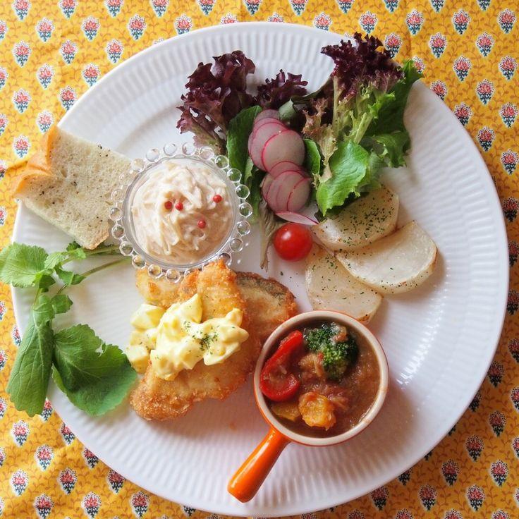 きゃさりん 福岡's dish photo ワンプレートごはん ワンプレート  ワンプレートごはん | http://snapdish.co #SnapDish #晩ご飯