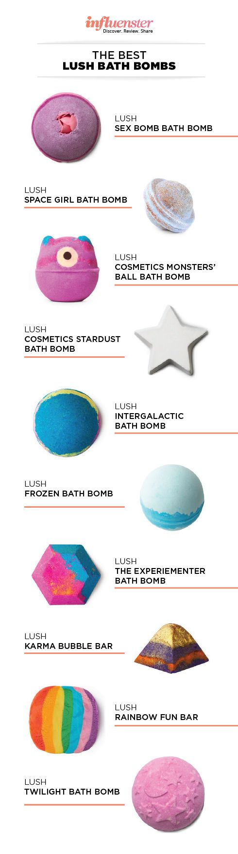 37K Reviews: The Best LUSH Bath Bombs - Sign up here to try products for FREE www.influenster.com/r/2735455