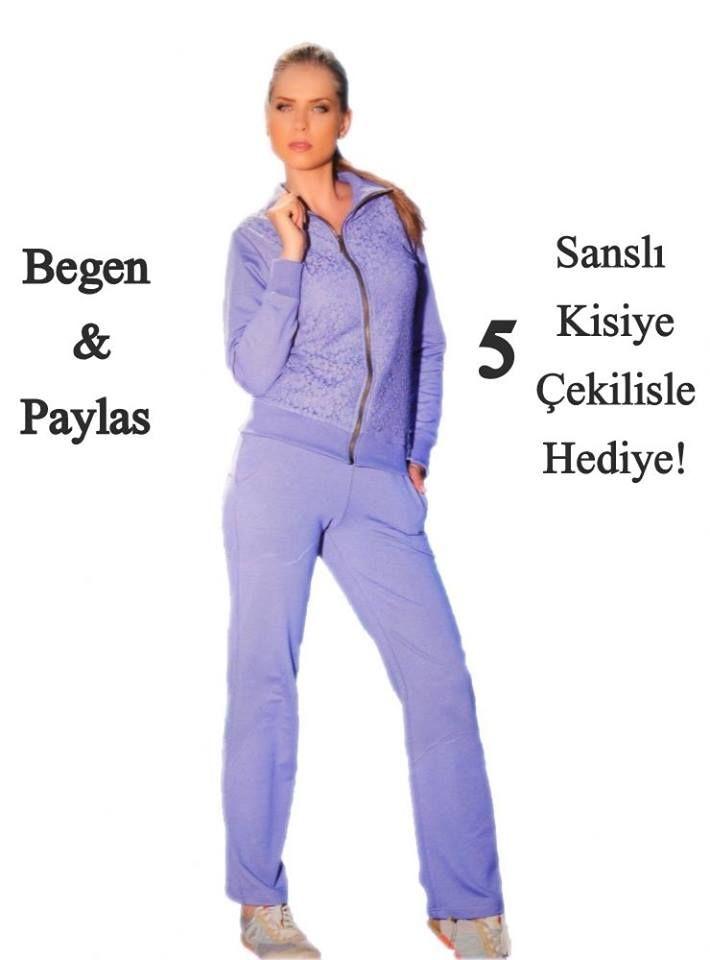 Begen & Paylas 5 Sansli Kisiden Biri Sen Ol! (15-25 Mart Kampanyasi )  Begen & Paylas Kampanyamiza  Twitter twitter.com/pijama_com_tr  Google Plus plus.google.com/+PijamaTr  Instagram instagram.com/pijama.com.tr/ Facebook https://www.facebook.com/pijama.com.tr sayfalarimizdan katılabilirsiniz   http://www.pijama.com.tr/esofman #yarisma #kampanya #hediye #çekilis #çekilisvar#lila #eşofman #bayaneşofman #eşofmantakımı #kadinpijama #pijamatakimi #bayanpijama #içgiyim #pijamacomtr