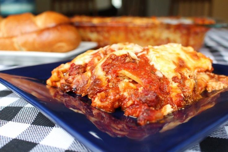 The Best Damn Lasagna on Earth! My new go-to lasagna recipe. I use a meatball recipe I have for the sauce and meat - crushing up the meatballs right before layering.