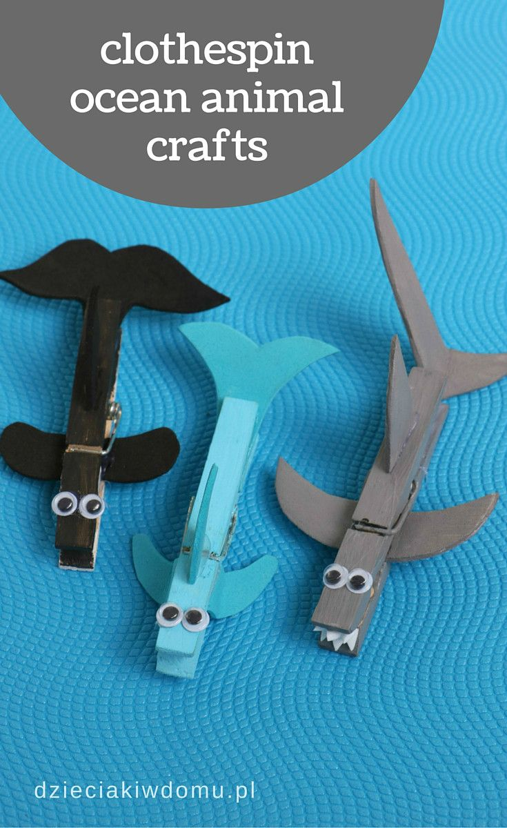clothespin ocean animal crafts