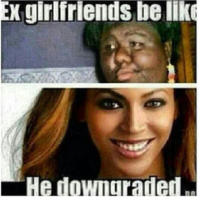 my ex dating ugly girl