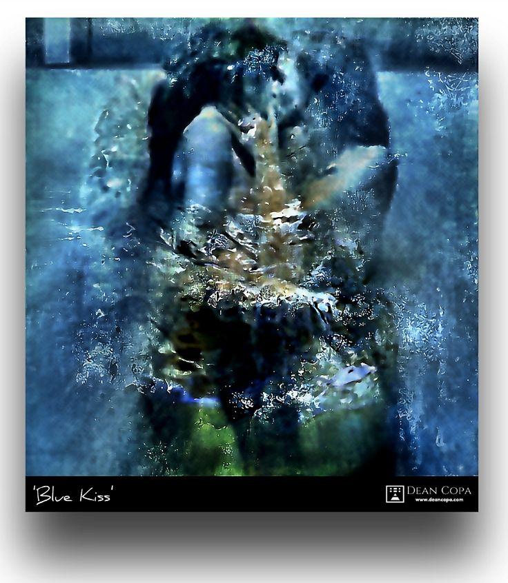 """""""Blue Kiss"""" 2016 by Dean Copa. New Techniques // Instagram : http://www.instagram.com/dean_copa #DeanCopa #modernart #contemporaryart #fineart #finearts #artoftheday #artdiary #kunst #art #artcritic #artlover #artcollector #artgallery #artmuseum #gallery #contemporaryartist #emergingartist #ratedmodernart #artspotted #artdealer #collectart #contemporaryart"""