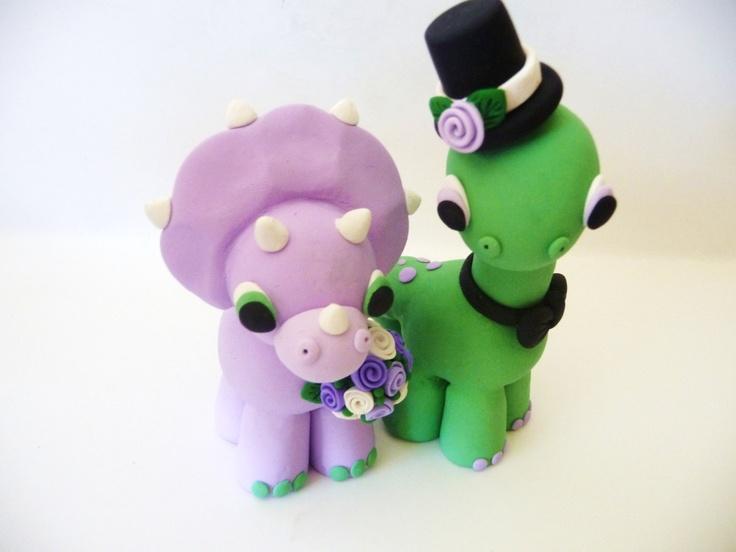 Dinosaur Wedding Cake Topper Yes Please July 10 2015
