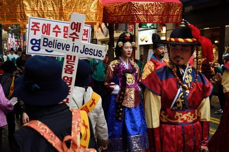 Royal Korean Medicine Parade. Photo by Sseop K. -- National Geographic Your Shot