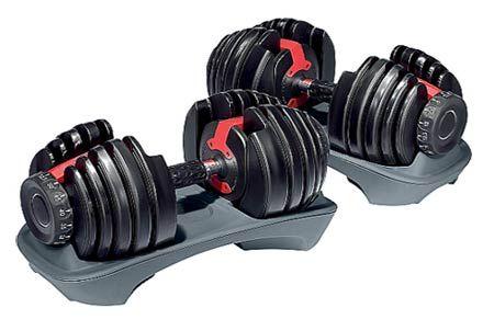 Paire Haltère Réglable 2,5 à 24 kg sur Fitness Boutique. 299€