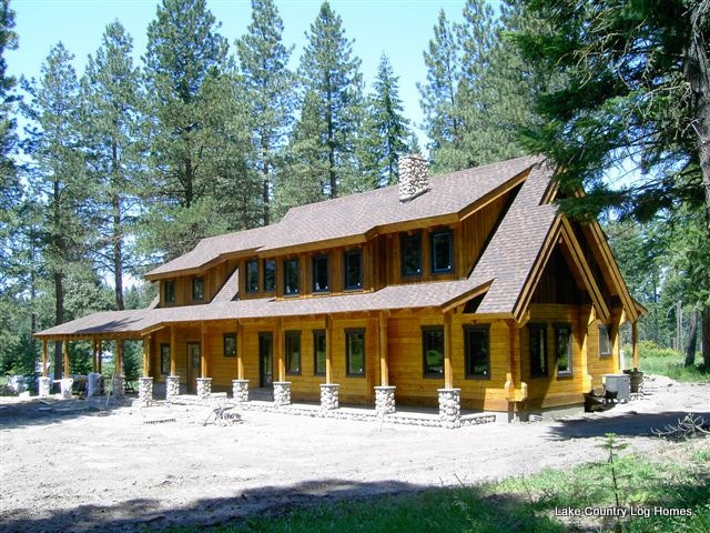 17 best images about lake country log homes on pinterest for Country log homes