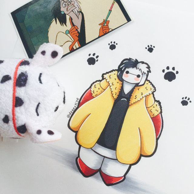 Best Baymax Collection Images On Pinterest Baymax Drawing - Baymax imagined famous disney characters