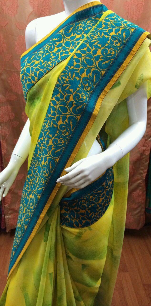 Buy Designer Chiffon Saree by Rakhee Gandhi