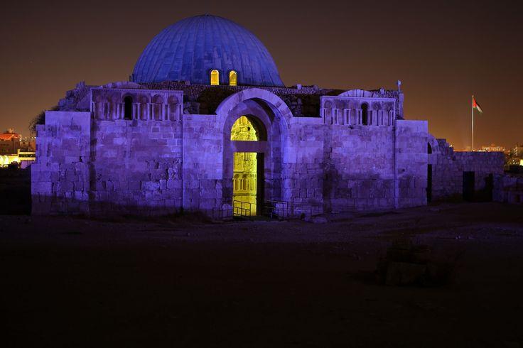 The Amman Citadel, Jordan.  Photograph: Raad Adayleh/AP