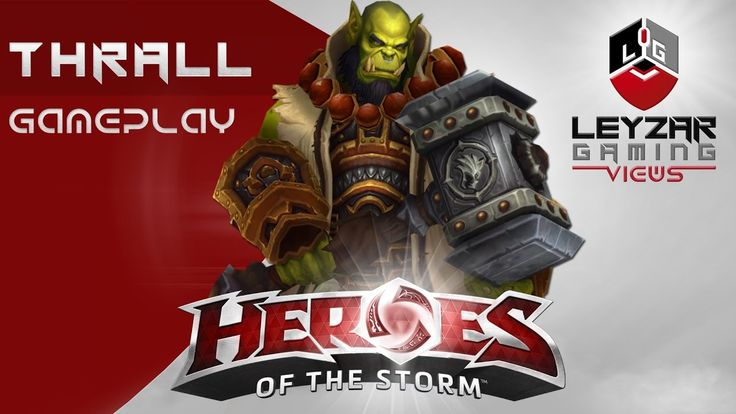 Heroes of the Storm (Gameplay) - Thrall Earthquake (HotS Thrall Gameplay...