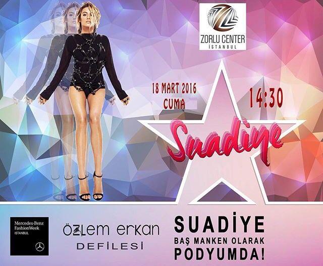 Fashion Week İstanbul 2016 Özlem Erkan Defilesi ⭐️ Sponsor Blogger Ajans ✨ Koreografi : Akif ÖRÜK www.bloggerajans.com #mercedesbenzfashionweek #mbifw #bloggerajans #blog #bloggers #ozlemerkan #akiforuk @ozlemerkannn @akiforuk @edapera @gizembolukk @suadiyeovenc ⭐️ 18 Mart Cuma 14.30 Zorlu Center